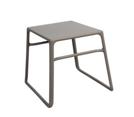 Pop outdoor side table colour TAUPE available to order now!