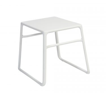 Pop outdoor side table colour WHITE available to order now!