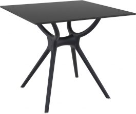 Air Outdoor Table 800 colour BLACK available to order now!