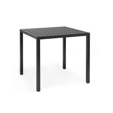 Cube Outdoor Table colour ANTHRACITE available to order now!