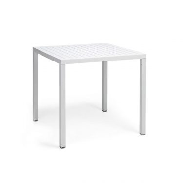 Cube outdoor table colour WHITE available to order now!