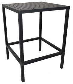 Cube Outdoor Bar Table colour ANTHRACITE available to order now!