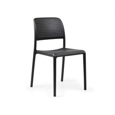 Bora outdoor cafe chair colour ANTHRACITE available to order now!