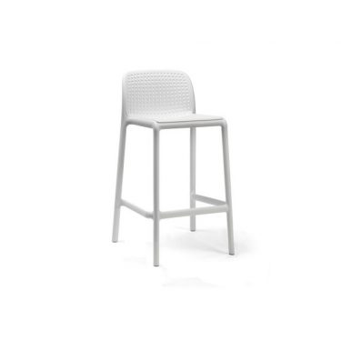 Bora Outdoor Stool 650mm colour WHITE available to order now!
