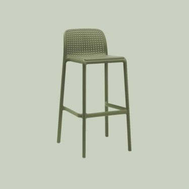 Bora Outdoor Stool 750mm colour AGAVE available to order now!