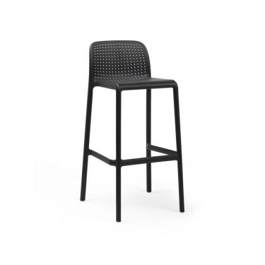 Bora Outdoor Stool 750mm colour ANTHRACITE available to order now!