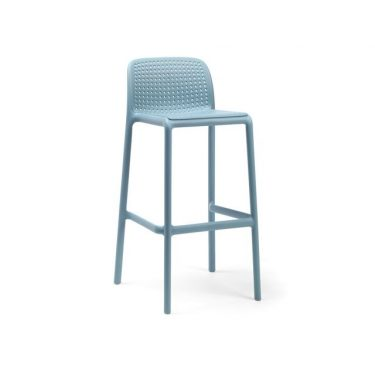 Bora Outdoor Stool 750mm colour BLUE available to order now!