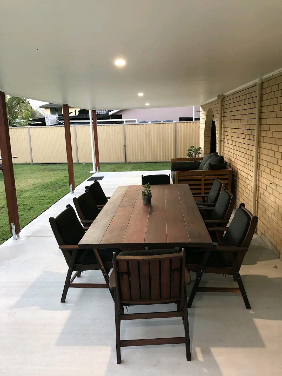Kirra Xl 2700mm Kwila Outdoor Timber Table Outdoor