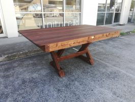 Rectangular Currumbin Kwila Outdoor Timber Table available to order now!
