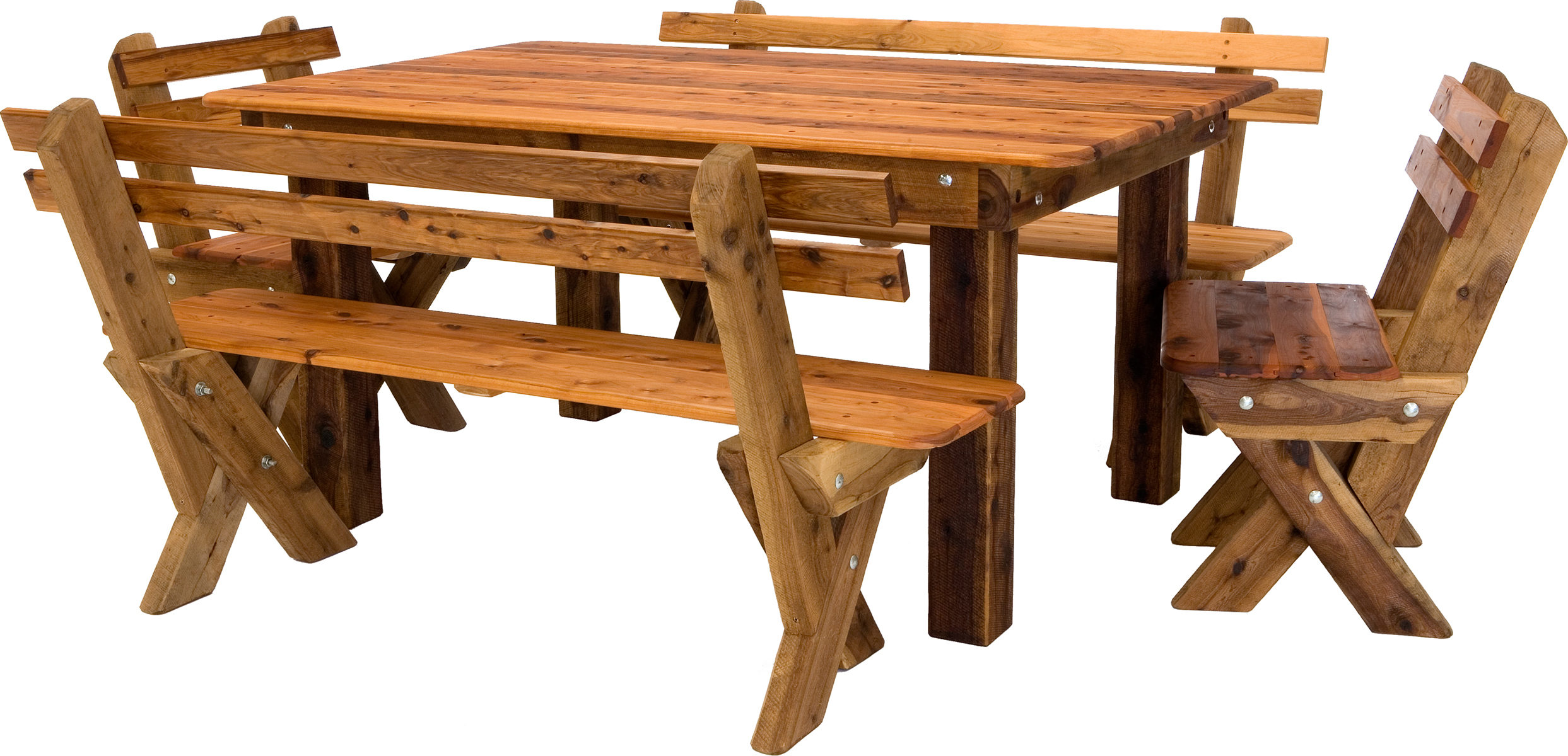 Palm beach cypress outdoor timber setting slat back available to order now