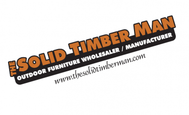 The Solid Timber Man logo!