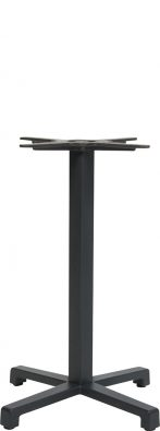Cross outdoor table base colour ANTHRACITE available to order now!