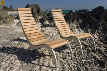 Ibeza Wave Outdoor Sun Lounge available to order now!