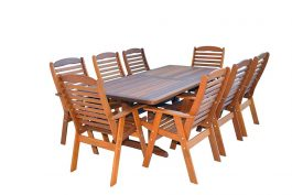 Rectangular Manus Kwila Outdoor Timber Table ready to order now!