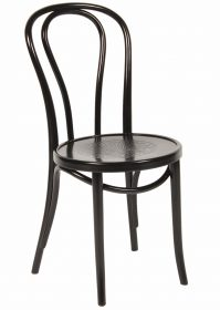 Princess Cafe Chair colour BLACK available to order now!
