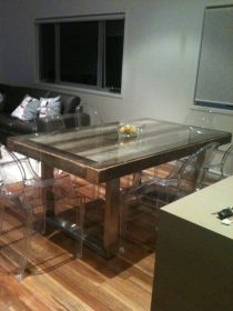 Recycled timber table KK available to order now!