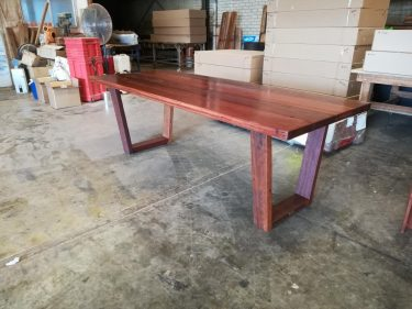 Recycled timber table TM available to order now!