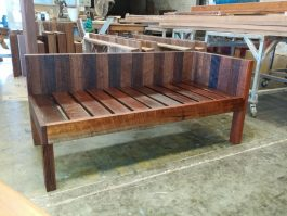 Recycled timber day bed available to order now!