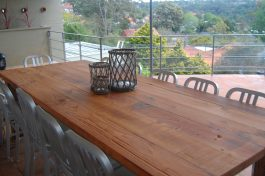 Recycled timber table SL available to order now!