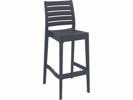 Ares Outdoor Stool colour ANTHRACITE available to order now!
