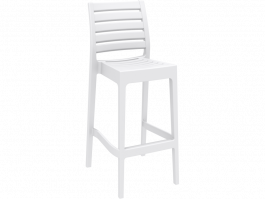 Ares Outdoor Stool colour WHITE available to order now!