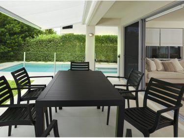 Artemis Outdoor Café Chair colour BLACK available to order now!