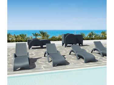 Fiji Sun Lounge colour ANTHRACITE available to order now!