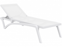 Pacific Sun Lounge in white and white available to order now!