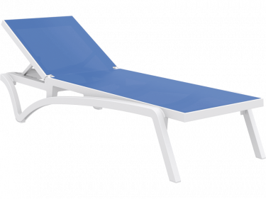 Pacific Sun Lounge in WHITE and BLUE available to order now!