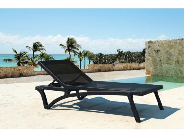 Pacific Sun Lounge in BLACK and BLACK available to order now!