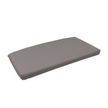 Net Relax Outdoor Bench Cushion colour LIGHT GREY available to order now!