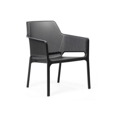 Net relax outdoor arm chair colour ANTHRACITE available to order now!