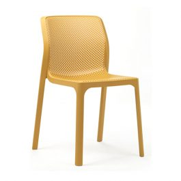 Bit outdoor cafe chair colour MUSTARD available to order now!