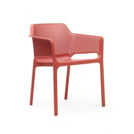 Net outdoor arm chair colour TERRACOTTA available to order now!