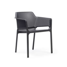 Net outdoor arm chair colour ANTHRACITE available to order now!