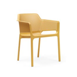 Net outdoor arm chair colour MUSTARD available to order now!