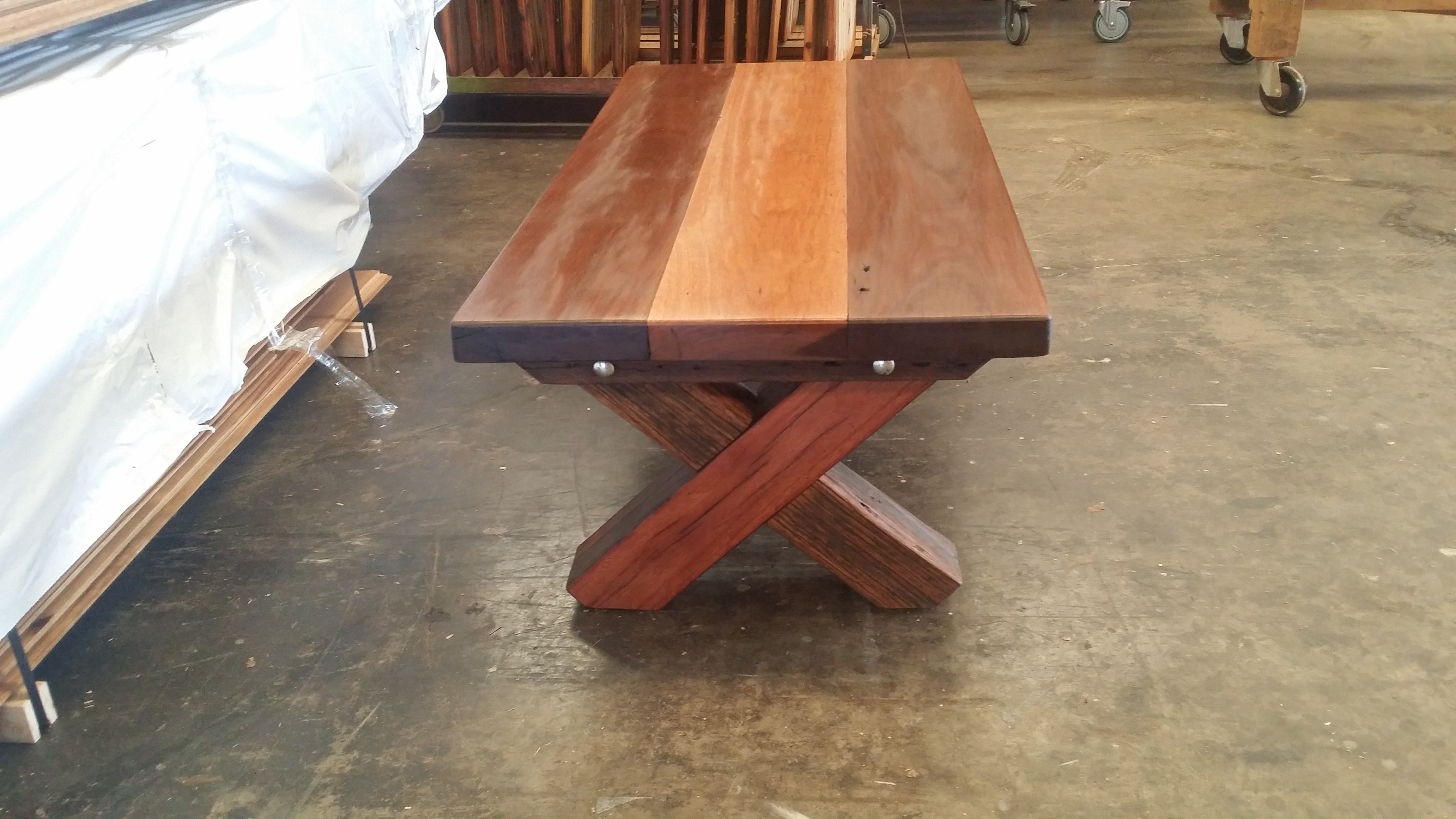 Recycled Timber Coffee Table P Recycled Furniture
