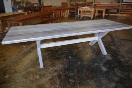 Recycled timber table BT available to order now!