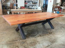 Recycled timber table BA available to order now!
