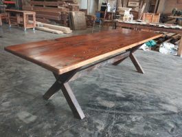 Recycled timber table WT available to order now!