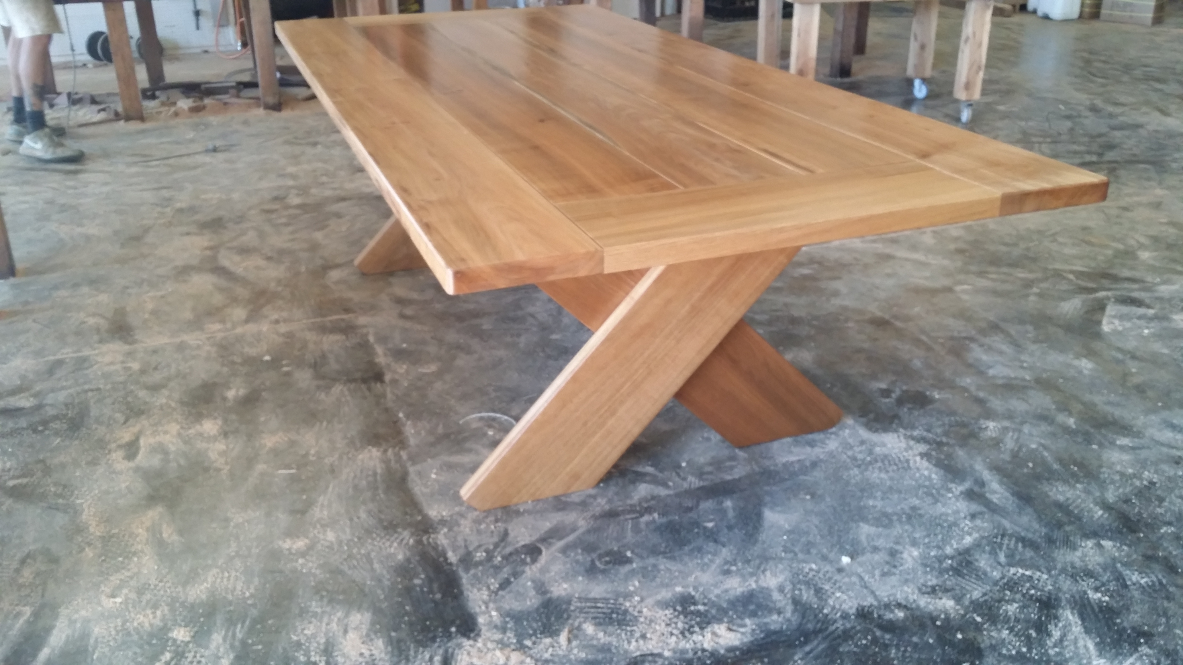 Kirra Xl 2950mm Teak Outdoor Timber Table Inserts Outdoor