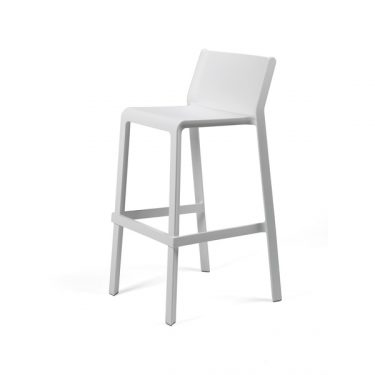 Trill outdoor stool 760mm colour WHITE available to order now!