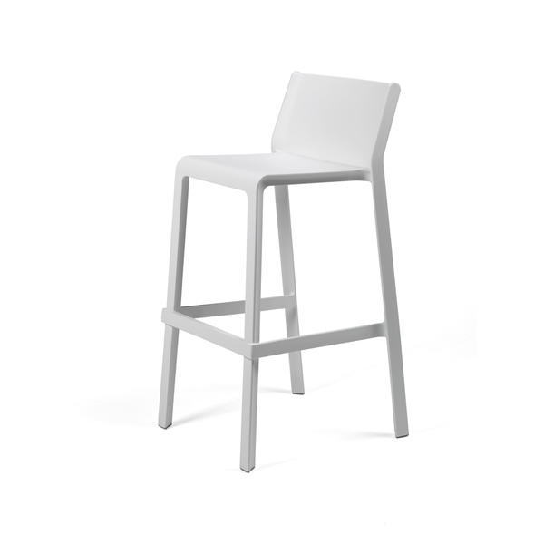 Trill outdoor stool 750mm colour WHITE available to order now!
