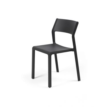 Trill outdoor cafe chair colour ANTHRACITE available to order now!