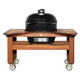 Spotted Gum Centre Grill Table - Primo Oval XL available to order now!