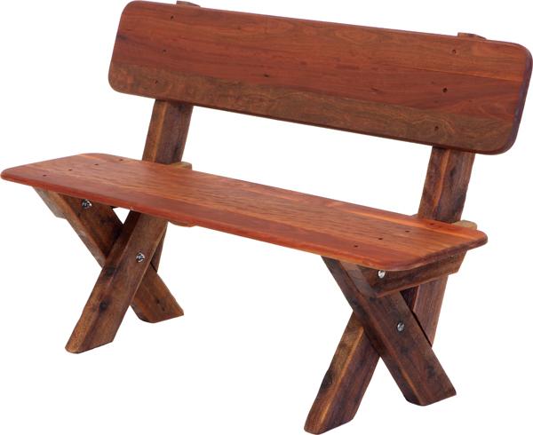 2 3 Seat High Back Kwila Outdoor Timber Bench Outdoor