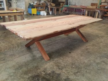 Recycled timber table SF available to order now!