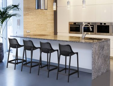 Air Outdoor Stool 650mm colour BLACK available to order now!