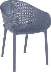 Sky Outdoor Arm Chair colour ANTHRACITE available to order now!