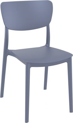 Monna Outdoor Café Chair colour ANTHRACITE available to order now!